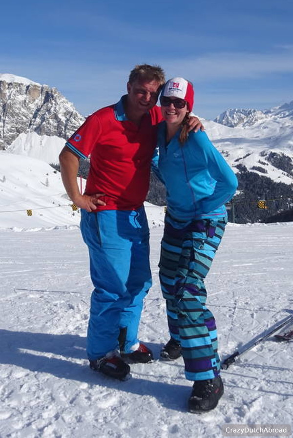 Winter sport Val Gardena - Ortisei, Dolomites, Italy! - Crazy Dutch ...